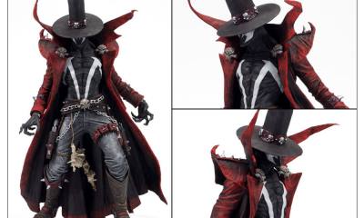 Spawn Series 27 The Art of Spawn Gunslinger İncelemesi!
