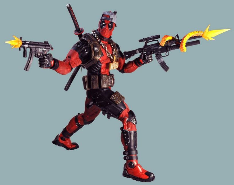 """Neca - Marvel """"Merc With A Mouth"""", Deadpool!"""