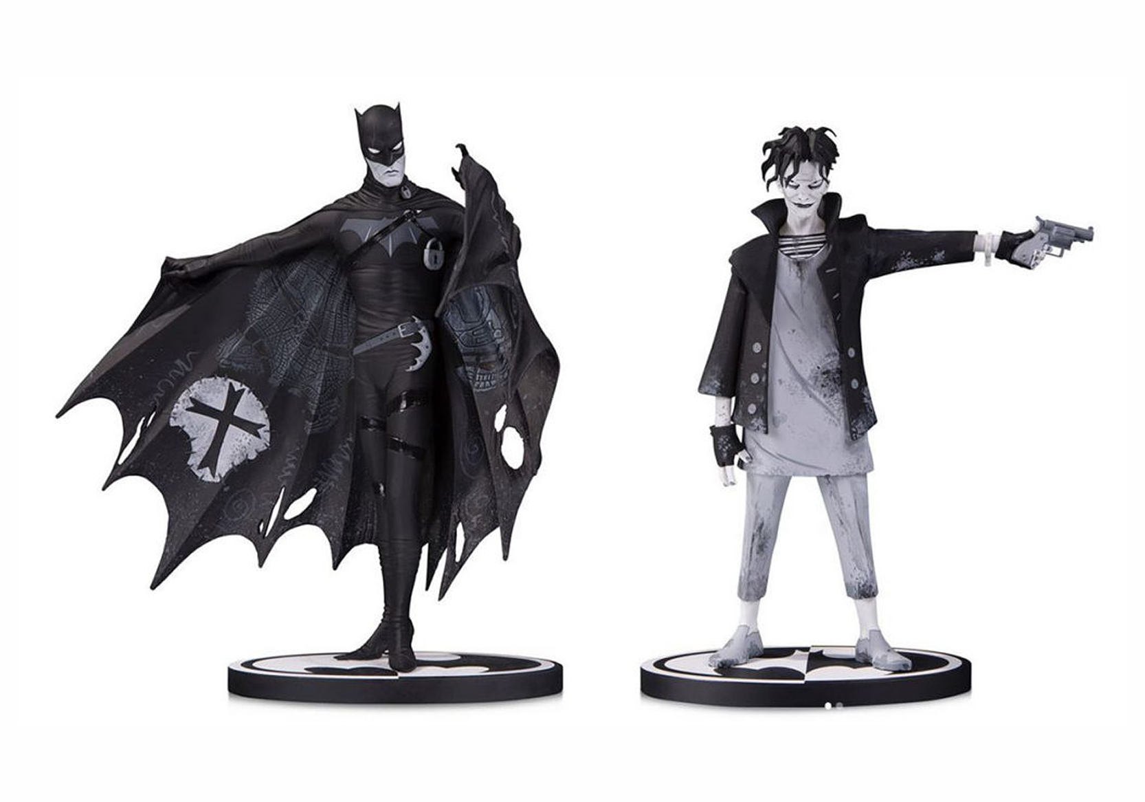 Dc Collectibles Batman Black and White Statues (Gerard Way)