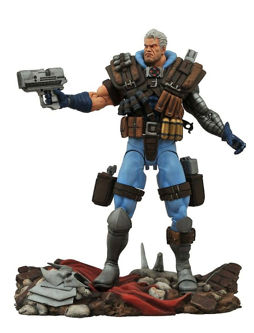 Diamond Select tOYS: Marvel Select: Cable Aksiyon Figür