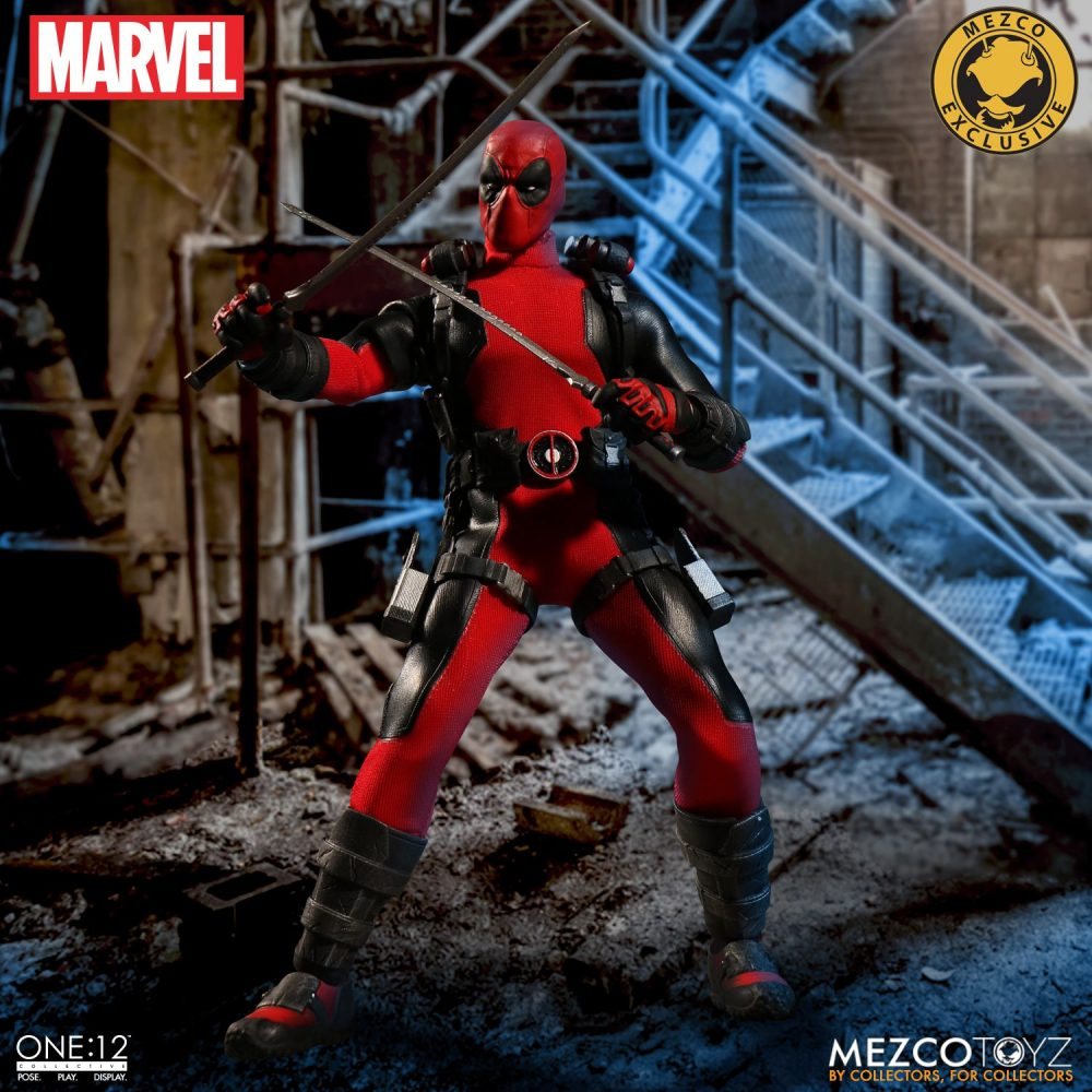 Mezco ONE:12 COLLECTIVE Deadpool