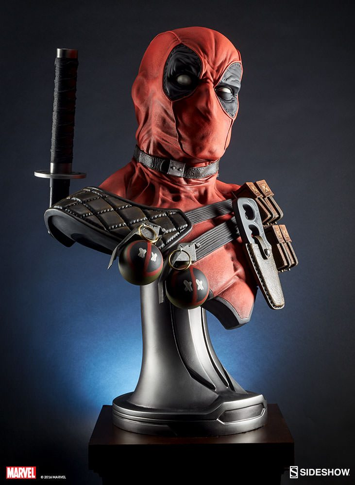 Sideshow: Deadpool Life-Size Bust