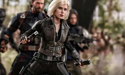 Hot Toys: Avengers: Infinity War - Black Widow geliyor!