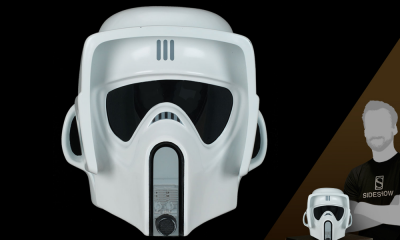 Sideshow Collectibles'tan Life-Size Scout Trooper Helmet satışta!