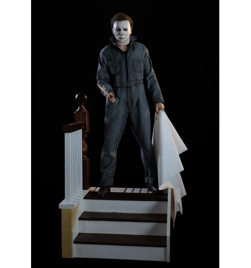 "PCS Collectibles: HALLOWEEN 1:3 Ölçek ""Michael Myers"" Heykel!"