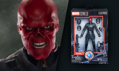 Marvel Legends SDCC Özel MCU 10. YIl Red Skull & Elektronik Tesseract Mı ?