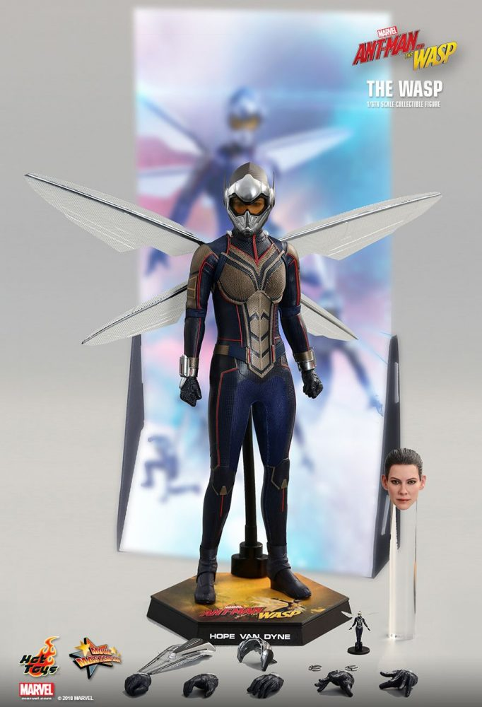 Hot Toys: Ant-Man And The Wasp 1/6 - The Wasp Collectible Figürü!