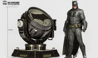"Hero Club: 1/6 Ölçekli ""Bat Spotlight"" incelemesi!"