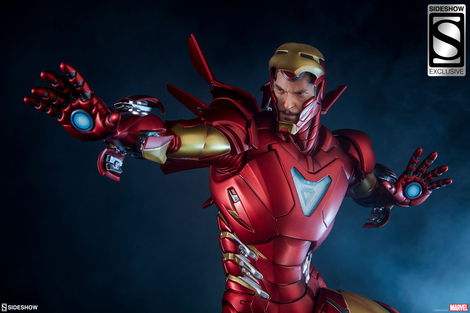 Sideshow Collectibles: Iron Man Extremis Mark 2 Statue Yolda!