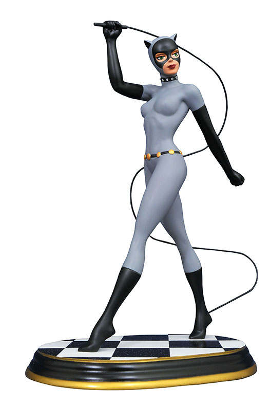 DC Premier Collection Batman The Animated Series Catwoman Gem Edition Statue