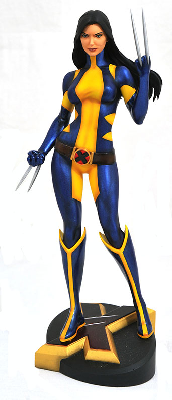 Marvel Comics Gallery X-23 as Wolverine Unmasked PVC Diorama