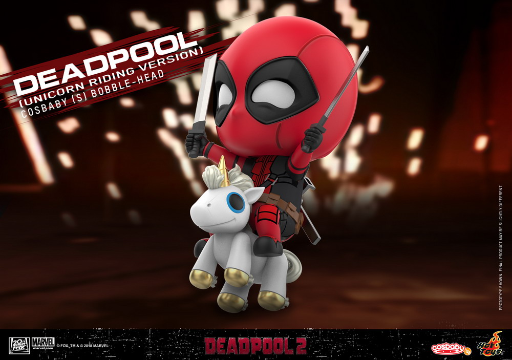 Hot Toys: Deadpool'un Cosbaby Collection Halleri Yolda!