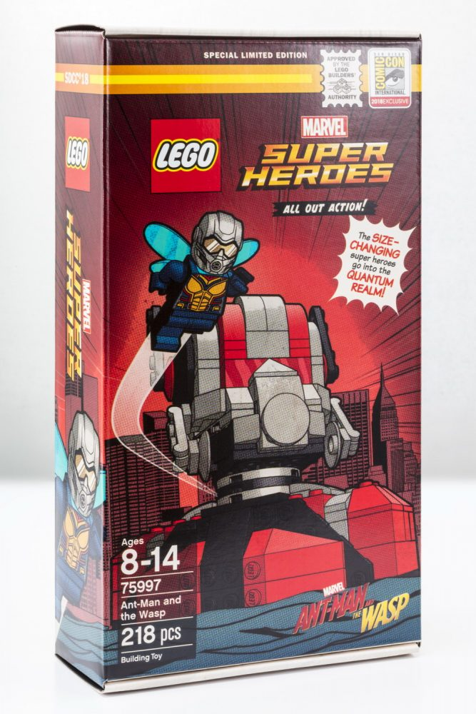 Lego Marvel Super Heroes Ant - Man And The Wasp