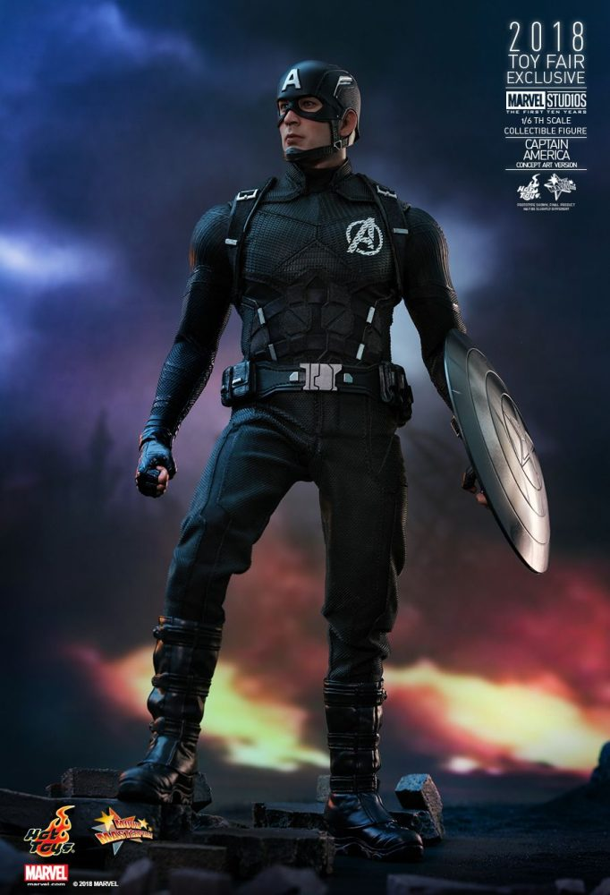 Hot Toys: Marvel Studios: The First Ten Years 1/6 Captain America (Concept Art Version)
