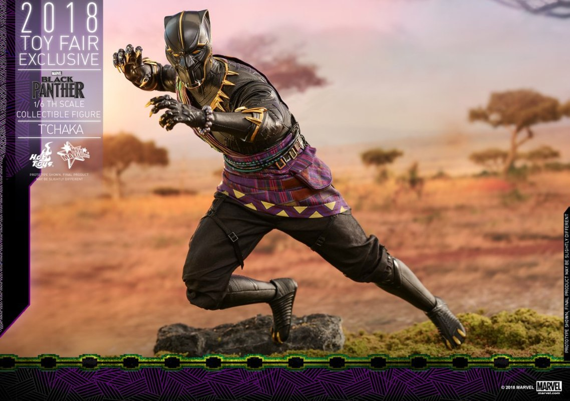 Hot Toys: 1/6 Black Panther T'CHAKA Figürü
