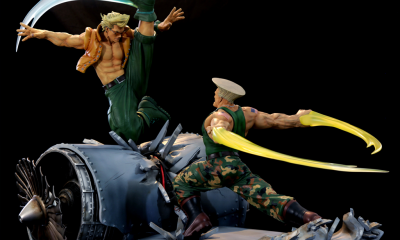 "Kinnetiquettes: The Street Fighter Guile ve Charlie ""War Heroes"" Diorama Heykelleri Ön-Siparişte!"