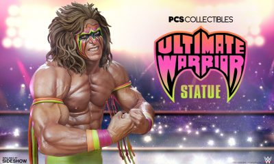 PCS Collectibles-WWE Ultimate Warrior Heykeli
