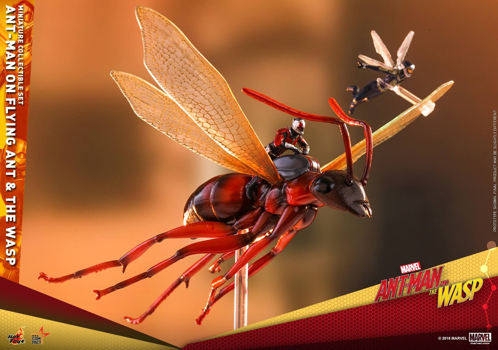 Hot Toys: Ant-Man And The Wasp Flying Ant And The Wasp Miniature Collectible Setini Duyurdu!
