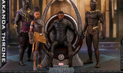 Hot Toys: Black Panther 1/6 Wakanda Throne Collectible Setini Duyurdu!