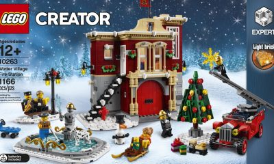 Lego: Lego Creator: Winter Village Fire Station Setini Duyurdu!