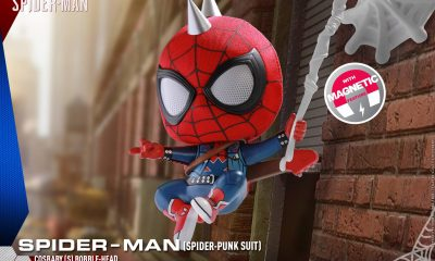 Hot Toys: Marvel's Spider-Man Cosbaby(s) Bobble-Head Figürünü Duyurdu!