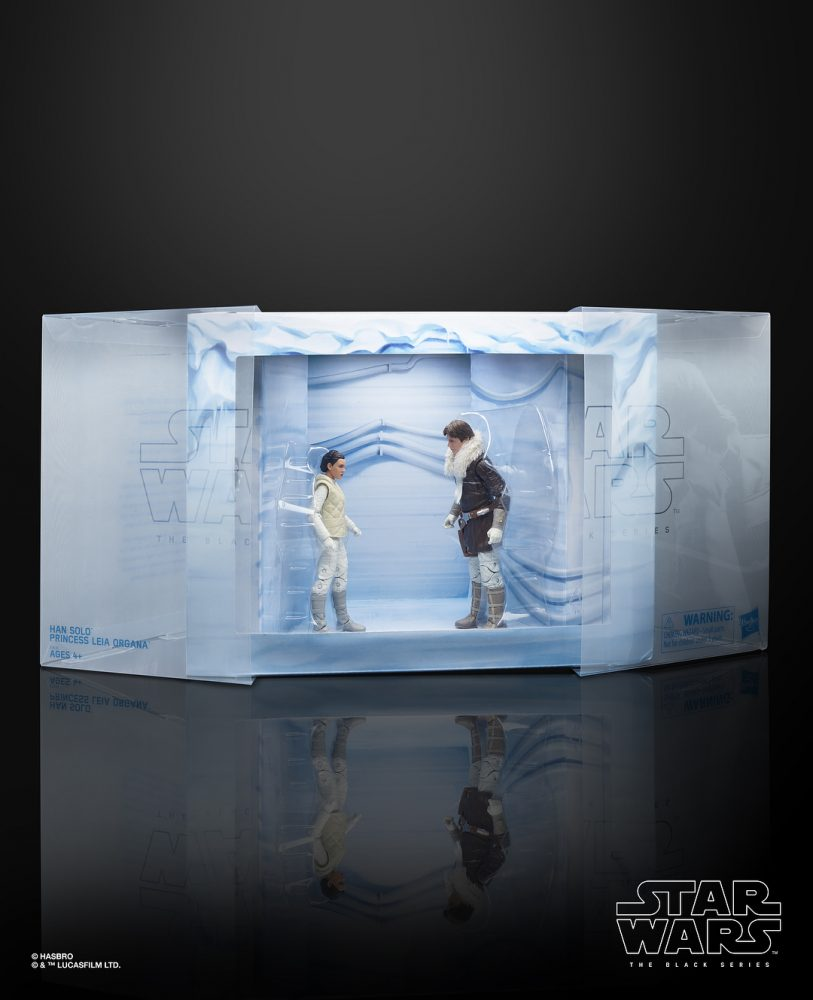 "Black Series'in ""Hoth"" Han Solo ve Prenses Leia, UK ve European Con'da!"
