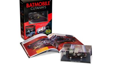 Eaglemoss: Batmobile Cutaways: Batman Classic TV Serisi!
