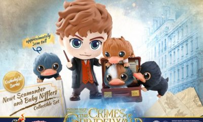 Hot Toys: Fantastic Beasts: The Crimes of Grindelwald Cosbaby Serisi!