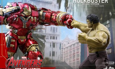 Hot Toys: Hulkbuster Seti, Iron Man Mark XLIII Ve Deluxe Hulkbester