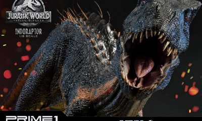 Prime 1 Studio: Jurassic World Fallen Kingdom Indoraptor Statue!