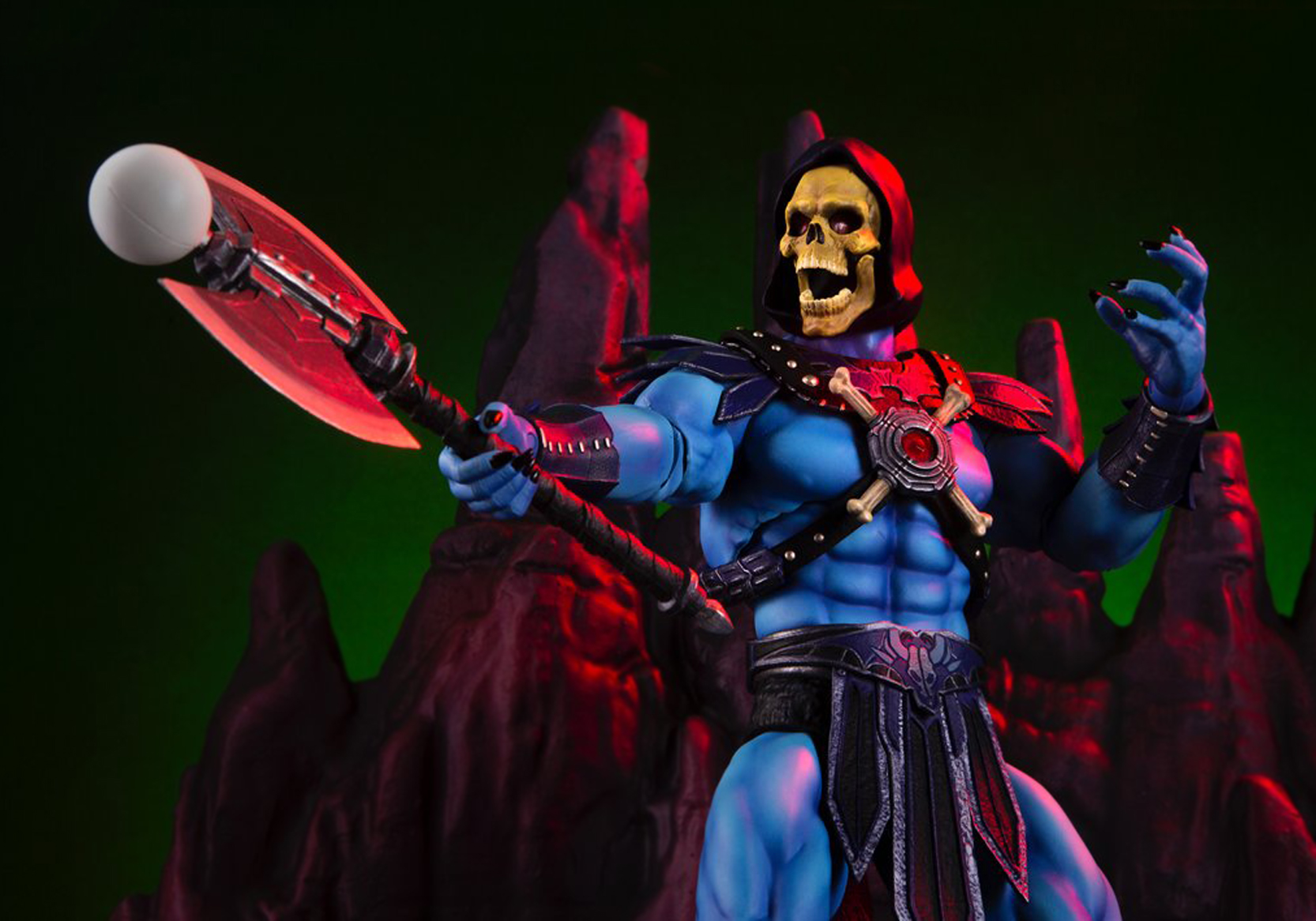 Mondo: Masters of the Universe SKELETOR 1/6 Ölçek Figür!