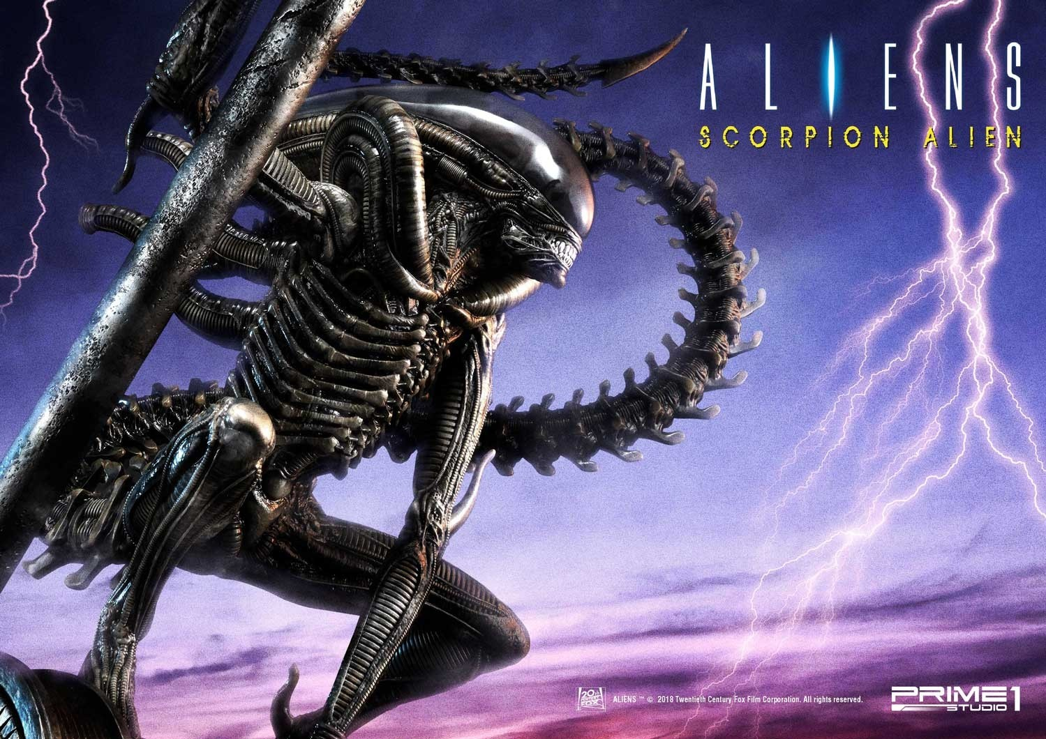 "Prime 1 Studio: Aliens Comic Series – ""Scorpion Alien"" Heykeli!"