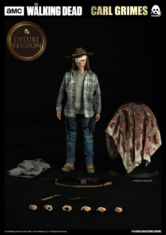 "Threezero: The Walking Dead ""Carl Grimes"" Figürü Ön Siparişte!"