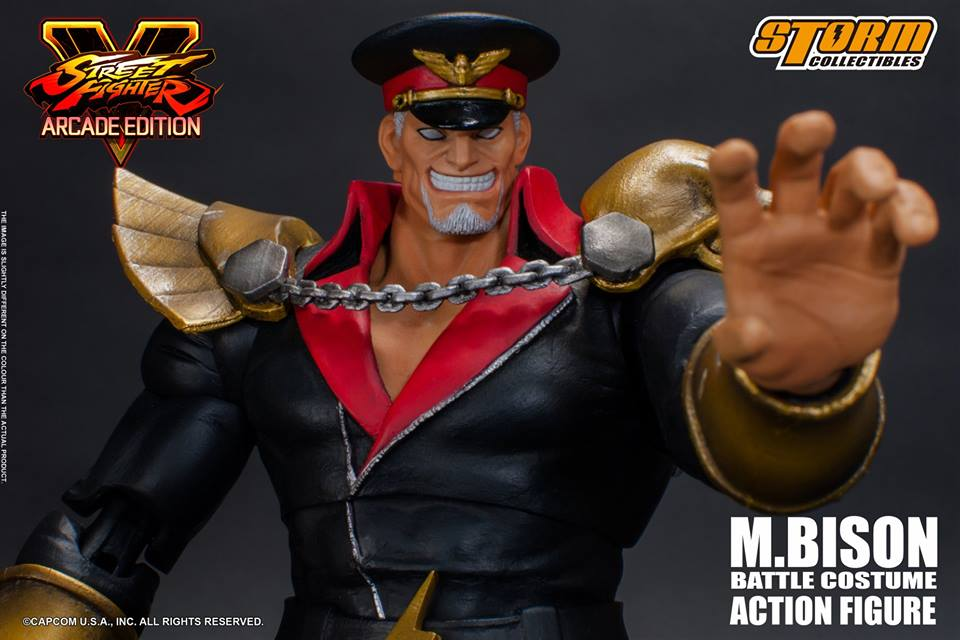 Storm Collectibles: M.Bison (Battle Costume) Street Fighter Figürü