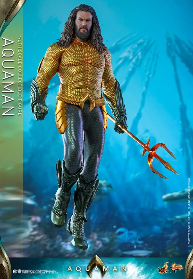 Hot Toys: 1/6 Aquaman Collectible Figürünü Duyurdu!
