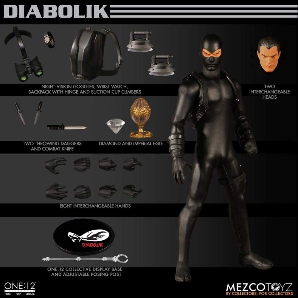 Mezco One:12 Collective Diabolik Figürü!