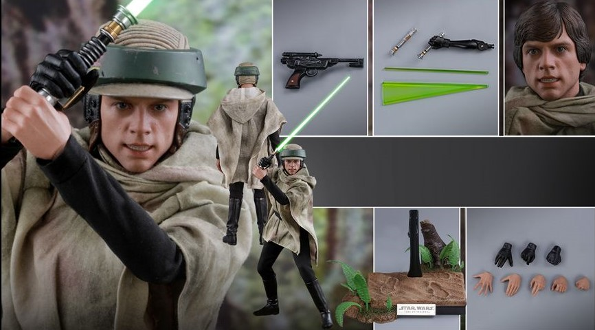 Hot Toys Star Wars – Return Of The Jedi Luke Skywalker (Endor) Figürü Duyuruldu!