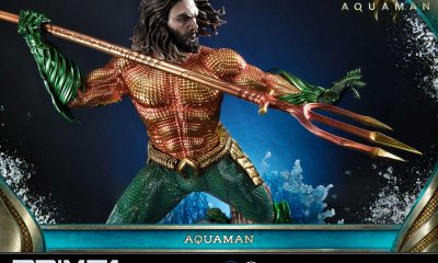 Prime 1 Studio 1/3 Aquman Movie Aquaman Heykelini Duyurdu!
