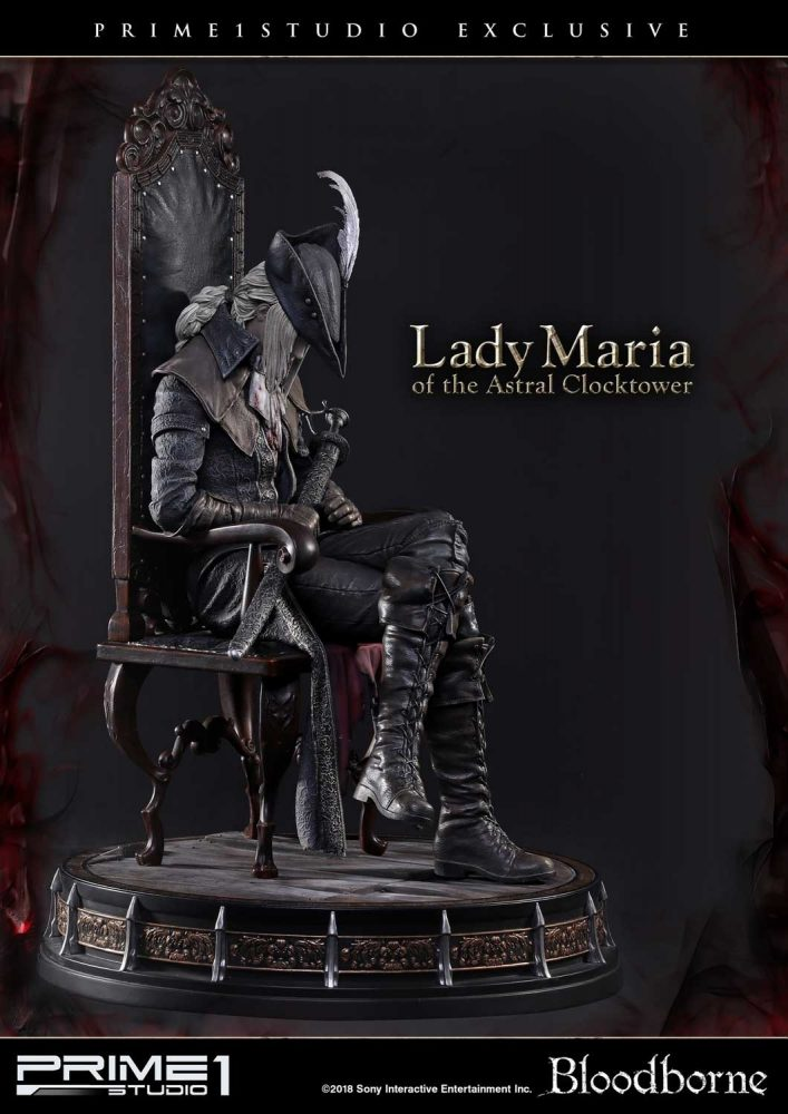 Prime 1 Studio: Yeni Bloodborne Lady Maria of the Astral Clocktower!