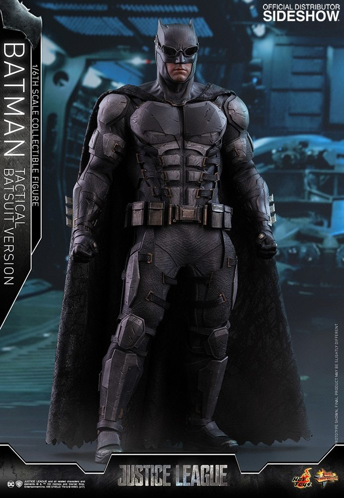 Hot Toys: Justice League 1/6 Batman (Tactical Suit) Figürü!