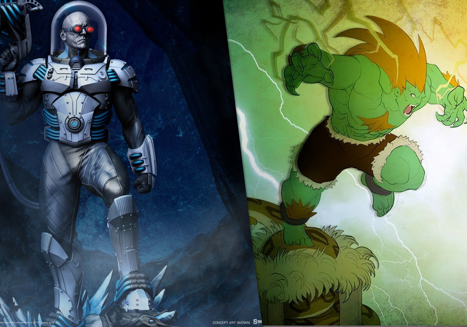 12 Days of Sideshow Event Devam Ediyor: MR. FREEZE ve BLANKA!
