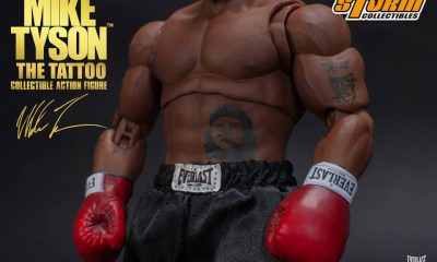 "Storm Collectibles: Mike Tyson ""The Tattoo"" Aksiyon Figürü!"