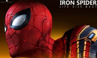 Queen Studio Distribution: Iron Spider Life Size Bust'unu duyurdu!