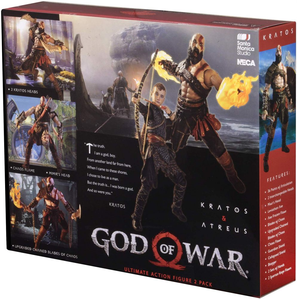 NECA: God of War – Kratos ve Atreus 2'li Paket Satışta!!!