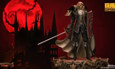 Sideshow: Castlevania - Symphony of the Night'dan Alucard Heykeli Duyuruldu!!!