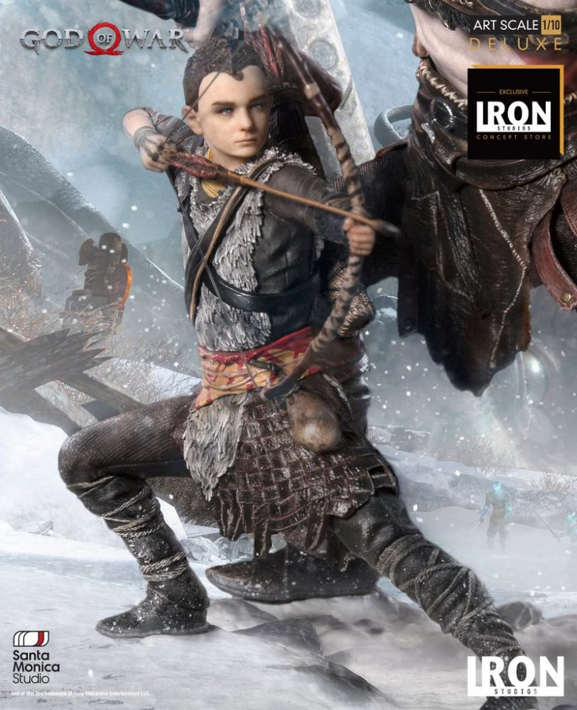 Iron Studios: God of War – Kratos ve Atreus Heykelini Duyurdu!