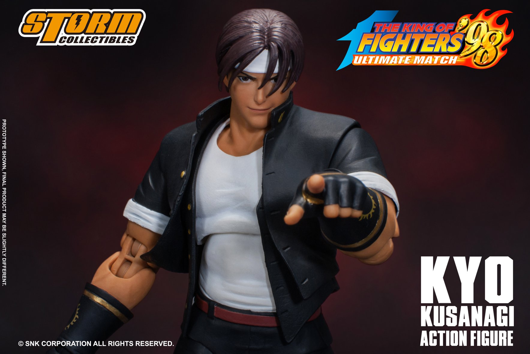 Storm Collectibles: King of Fighters '98 Kyo Figürü!