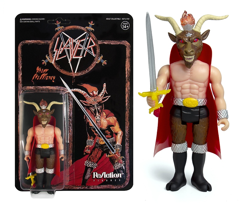 "Super7 - ReAction Figures: SLAYER ""Show No Mercy"" Figürü!"