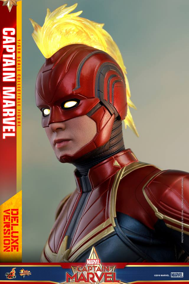 Hot Toys: Captain Marvel (Deluxe Version) Figürünü Duyurdu!