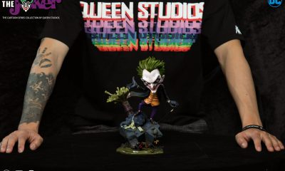 Queen Studios: The Cartoon Joker Heykeli Duyuruldu!